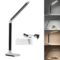 10W LED Tischlampe Schreibtisch-Leuchte Büro dimmbar Lese-Lampe Nachttisch