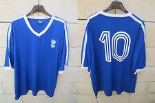 Maillot BIRMINGHAM City F.C n°10 rétro vintage football shirt Blues jersey XL