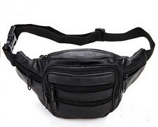 TRAVEL LEATHER BUM BAG MONEY  BELT FANNY PACK HOLIDAY FESTIVAL MONEY POUCH