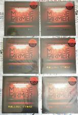Mylene Farmer lot 6 Maxi 33Tours vinyle Rolling Stone disque couleur