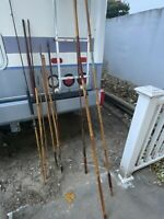Vintage BAMBOO FLY ROD Set Of 3 Plus, Up To 13.75 Ft