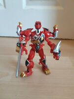 Power Rangers Jungle Fury Animalized Red Tiger Bandai Action Figure complete