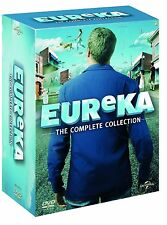 A TOWN CALLED EUREKA 1-5 COMPLETE COLLECTION SEASON 1 2 3 4 5 DVD ENGLISCH