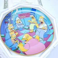 "Franklin Mint "" Matt Groening Simpsons "" Collector Plates Set of (5)"