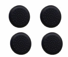 4 X Black Silicone Thumb Cover Grip Caps Stick for Sony Ps4 Analog Controller