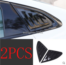 FOR Chevrolet Malibu XL 2016-2020 Bright black Side Window Louver shutter Cover