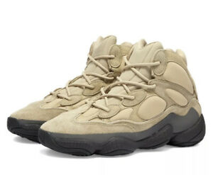 IN HAND - Adidas Yeezy 500 High Shale Warm Mens Size 9.5 - Brand New