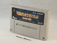 DENSETSU NO OGRE BATTLE SUPER FAMICOM SNES 16 BIT GIAPPONESE JAP JP NTSC IMPORT