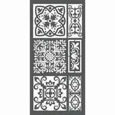 NEW Stamperia  Mixed Media Thick Stencil Tiles