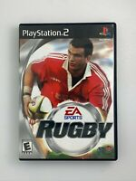 EA Sports Rugby - Playstation 2 PS2 Game - Complete & Tested