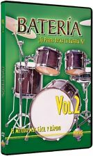 Bateria,Vol.2:Tu Puedes Tocar La Bateria Ya! SPANISH-NEW SEALED ON SALE DRUM DVD