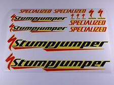 SPECIALIZED STUMPJUMPER Bicycles Bikes Frames Decals Stickers BMX MTB 751GG