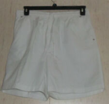 NEW WOMENS Studio Works WHITE PULL ON SHORTS   SIZE 14
