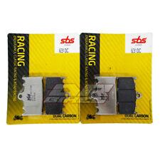 Suzuki GSXR 600 SRAD 1997 - 2000 SBS Dual Carbon Front Brake Pads 631DC