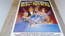 TO BE OR NOT TO BE ! mel brooks affiche cinema