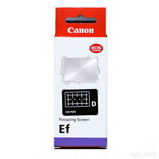 "CANON ""Grid Focusing Screen Ef-D"" For EOS 60D / 50D / 40D Genuine From Japan NEW"