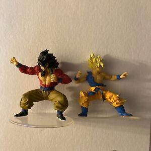 BANDAI Dragon Ball styling Super Saiyan 4 Son Goku & Super Saiyan Goku Lot Used