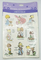 VINTAGE HALLMARK PRECIOUS MOMENTS STICKERS Sealed in Package New