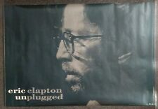 Eric Clapton Unplugged 1992 Promo Poster