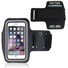 Bracciale Fascia braccio Sport per Apple iPhone 6S Armband fitness corsa Nera