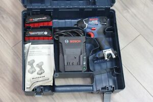 """Bosch Impactor Lithium ion 18V 1/4"""" (6mm) Hex Impact Driver Kit #25618-02"""