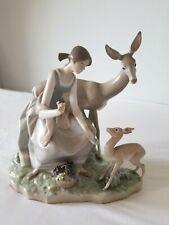 Lladro, Vintage, Porcelain Figurine. Pristine Condition. Unique Collectible.