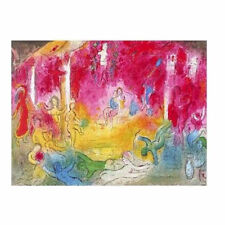 CH0029 - CHAGALL - Dafhnis and Chloe - AUTHENTIC 1977 Vintage Lithograph