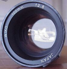 "WIKO WK-100 4"" F.L. Lens for Ekatagraphic/Elmo GREAT!!"