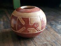 Hand crafted Ecuador replica Guangala Vase