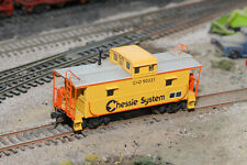 Atlas Trainman HO Scale Chessie System C&O Center Cupola Caboose #90221