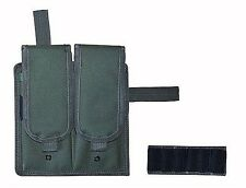 OD Green Double Magazine Clip Pouch Modern Tactical Rifles BB Airsoft 2 Mag 247G