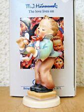 """Goebel Hummel Figurine """"Band Leader"""" Hum #129 4/0 Tmk6 Mint In Box C382"""