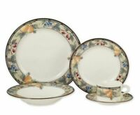 Mikasa Intaglio Garden Harvest 5 Piece Dinnerware Set Bowl/ Saucer & Teacup