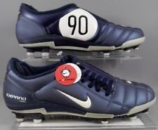 Nike  Soccer Cleats Jr. T90 Expand Plus Soccer Cleats Dark Blue/Silver   Size 6