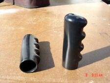 "1-1/4"" RUBBER GRIPS - FITS 1"" I/D BLACK PIPE - YOU GET  (1 PAIR) =  2 grips"