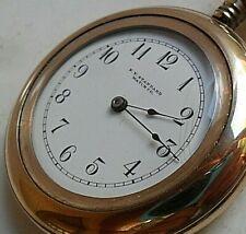 Antique 1905 New York Standard 6 Size 20Y G/F O/F Model 16 Pocket Watch 4 REPAIR