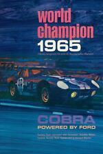 1965 Cobra Daytona Coupe World Champion Race Car Poster:>)