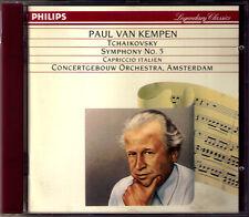Paul van KEMPEN TCHAIKOVSKY Symphony No.5 Capriccio Italien CD Concergebouw 1951