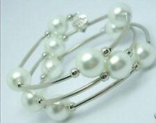 2016 new Charm tibet silver southsea white shell pearl bracelet