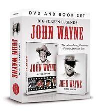 Big Screen Legends: John Wayne by Timothy Knight (DVD and Book 2013)