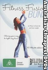 Fitness Fusion, Belly Dance  Buns DVD NEW, FREE POSTAGE IN AUSTRALIA  REG  ALL