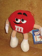 """M&M's Red Stuffed Plush Nanco 2001 7"""" Mars NWT"""