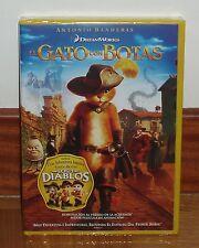 EL GATO CON BOTAS PUSS IN BOOTS DVD NUEVO PRECINTADO ANIMACIÓN (SIN ABRIR) R2