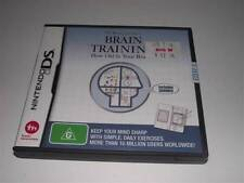 Brain Training Nintendo DS 2DS 3DS Game Preloved *Complete*