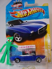 2011 #14 NM Hot Wheels '63 FORD MUSTANG II CONCEPT 1963 #014 Win Blue New Models