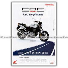 PUB HONDA CBF 500 CBF500 - Original Advert / Publicité Moto 2004