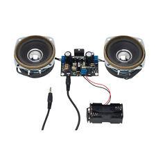 Amplificador Estéreo Electronics Kit. 10w + 10w 10w Con Altavoces Amplificador