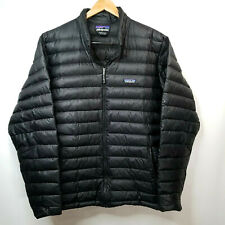 Patagonia Men Down Sweater Puffer Jacket Black Lightweight RN 51884 Size XXL