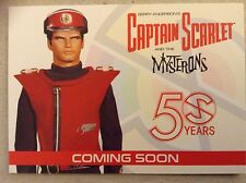 UNSTOPPABLE CARDS: PROMO CARD - CAPTAIN SCARLET 50 YEARS -  PR1
