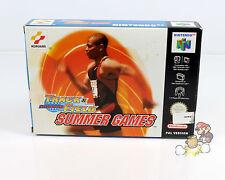 Track & Field Summer Games ( Nintendo 64 / N64 ) * TOP * CiB * KOMPLETT * OVP *